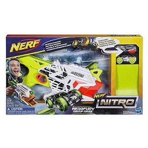 Lançador de Carro Nerf Nitro Aerofury Ramp Rage - Hasbro