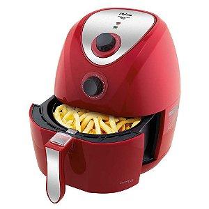 Fritadeira Air Fry Saúde PH3L Philco Inox - Vermelha