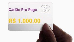 Cartão Pré-Pago Gift card