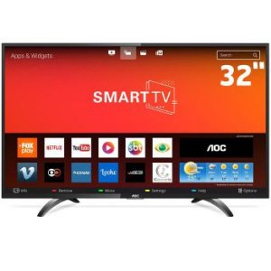 SMART TV 32P AOC LED WIFI HD HDMI - 32S5295