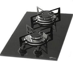 Fogão cooktop a gás Fischer 7726-11474 preto-ébano 127V/220V