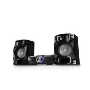 MINI SYSTEM PANASONIC 580W BLUETOOTH CD USB - SC-AKX520LBK