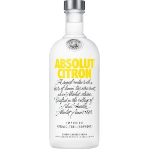 Vodka Absolut Citron - 750ml
