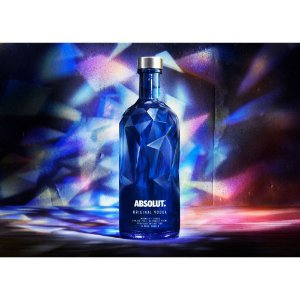Vodka Absolut Facets - 1 Litro