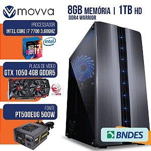COMPUTADOR GAMER MVX7 INTEL I7 7700 3.6GHZ MEM. 8GB DDR4 HD