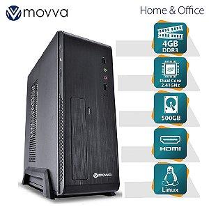 COMPUTADOR LITE INTEL DUAL CORE J1800 2.41GHZ MEMÓRIA 4GB H