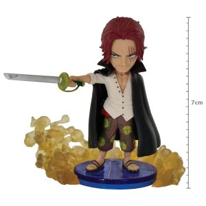FIGURE ONE PIECE WORLD  COLLECTABLE - BURST- SHANKS