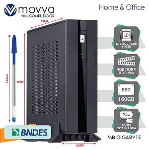 MINI COMPUTADOR INTEL I3-6100 3.7GHZ MB GIGABYTE H110TN-M ME