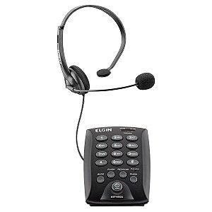 TELEFONE HEADSET HST-6000 PRETO
