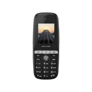 CELULAR UP PLAY DUAL CHIP PRETO TELA 1,8 COM BLUETOOTH P9076
