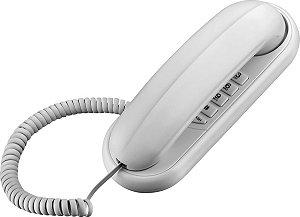 TELEFONE GÔNDOLA TCF 1000 BRANCO COMPATÍVEL COM CENTRAIS P