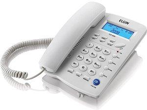 TELEFONE COM FIO INDENTIFICADOR DE CHAMADAS AGENDA PARA 12 N