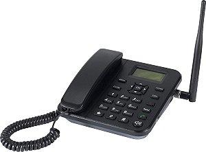 TELEFONE CELULAR RURAL FIXO DE MESA QUADRIBAND 850/900/1800/