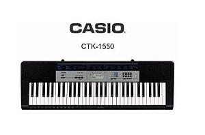 TECLADO MUSICAL DIGITAL CTK-1550, 61 TECLAS,120 TIMBRES - CASSIO