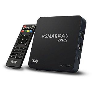 SMARTBOX WIFI 4K TRANSFORMAR TV EM UMA SMART PARA RECEPÇÃO