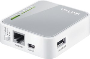 ROTEADOR PORTÁTIL 3G/4G USB WIRELESS 3.75G N 150MBPS TL-MR3