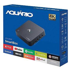RECEPTOR SMART TV BOX 4K ANDROID VERSÃO 7.1.2 NOUGAT STV-20