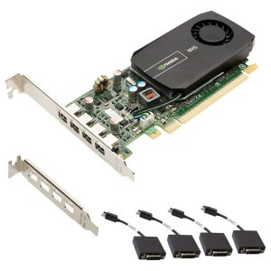 PLACA NVIDIA QUADRO NVS 510 2GB DDR3 128 BITS 4 MINI DISPLAY