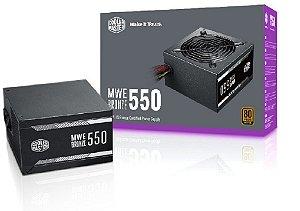 FONTE ATX MWE 550W 80 PLUS BRONZE - MPX-5501-ACAAB-WO