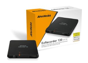 GRAVADOR DE VIDEO E TV EZRECORDER - ER130 - AVERMEDIA