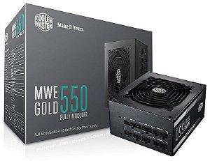 FONTE MWE 550W 80 PLUS GOLD FULL MODULAR - MPY-5501-AFAAG-WO