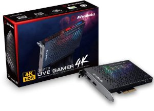 PLACA DE CAPTURA PCI-E AVERMEDIA LIVE GAMER 4K - GC573