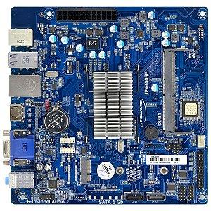 PLACA MÃE J4005 IPX40050E1 COM PROCESSADOR INTEGRADO 10/100