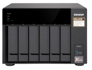 SERVIDOR QNAP NAS TS-673-8G  AMD R-SERIES RX-421 ND QUAD-CO