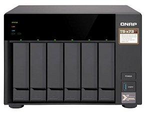 SERVIDOR QNAP NAS TS-673-8G AMD R-SERIES RX-421 ND QUAD-CO