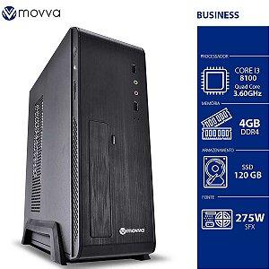 COMPUTADOR MERCURY INTEL I3 8100 3.6GHZ 8ª GER. MEM. 4GB SS