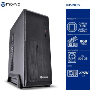 COMPUTADOR MERCURY INTEL I3 8100 3.6GHZ 8ª GER. MEM. 8GB HD