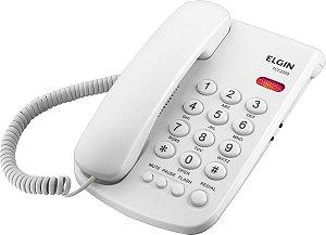 TELEFONE COM FIO TCF 2000 B - CHAVE DE BLOQUEIO - INDICAÇÃ