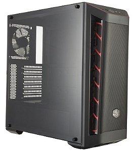 GABINETE MASTERBOX MB511 RED - MCB-B511D-KANN-S00