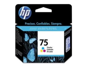 CARTUCHO DE TINTA CB337WB HP 75 COLOR 6ML