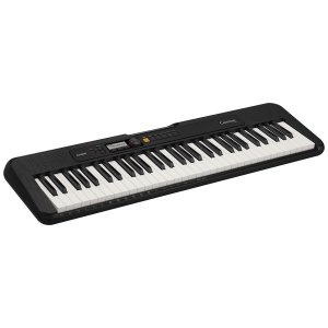 TECLADO MUSICAL CASIOTONE BASICO DIGITAL CT-S200BKC2-BR - PRETO - CASIO