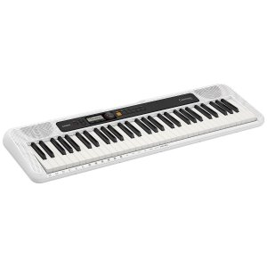 TECLADO MUSICAL CASIOTONE BASICO DIGITAL BRANCO CT-S200WEC2- CASIO