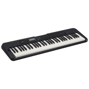 TECLADO MUSICAL CASIOTONE BASICO DIGITAL CT-S300C2-BR - PRETO - CASIO