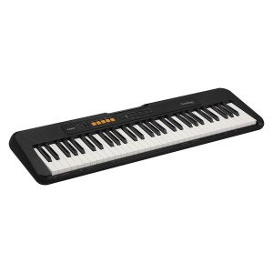 TECLADO MUSICAL CASIOTONE BASICO DIGITAL CT-S100C2-BR - PRETO - CASIO