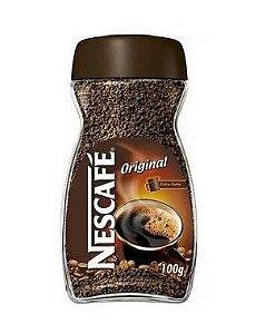 Café Solúvel Nescafé Original Vidro - 100g