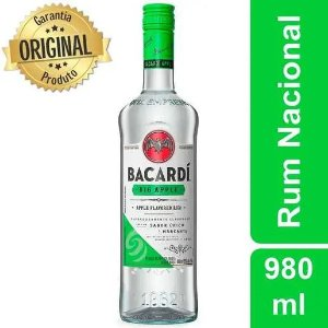Rum Bacardi Big Apple - 980ml