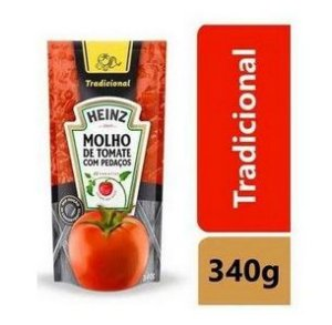 Molho de Tomate Heinz Tradicional Sache - 340g