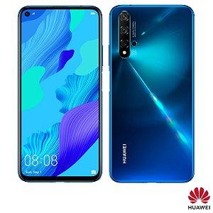 """Huawei Nova 5T com Tela de 6,26"""", 4G, 128GB e Câmera de 48MP + 16MP + 2MP + 2MP - NOVA5T"""