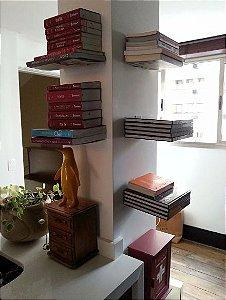 Suporte Estante Prateleira Invisível Para Livros e Revistas