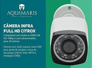 Câmera Ahd H 1080p 2.0mp Full Hd Infra 30 Metros Noturna