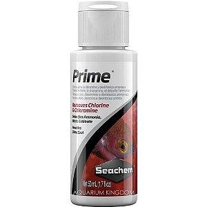 Condicionador de água Seachem Prime - 50ml