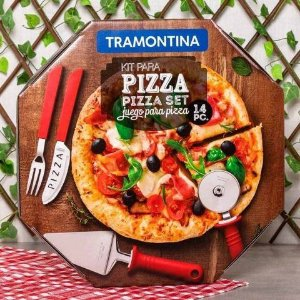 Conjunto de pizza Tramontina