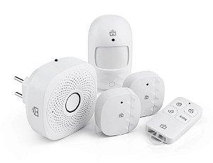 Kit Casa Segura Positivo Casa Inteligente - Controle por Smartphone