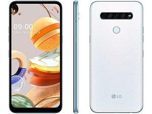 "Smartphone LG K61 128GB -  4G - Octa-Core - 4GB RAM 6,53"" Câm. Quádrupla + Selfie 16MP"