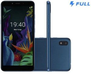 "Smartphone LG K8+ 16GB Dual Chip Android 7.0 Pie 5.4"" 4G Câmera 8MP - Azul"