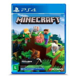 Jogo Minecraft - Starter Collection - PS4